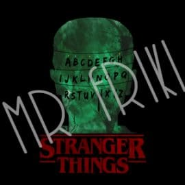camiseta stranger things arbol